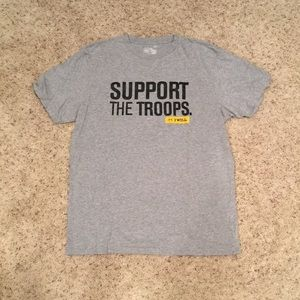 Under Armour Men's Support the Troops T-Shirt